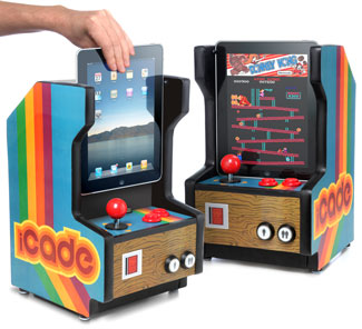 iPad arcade iCade machine