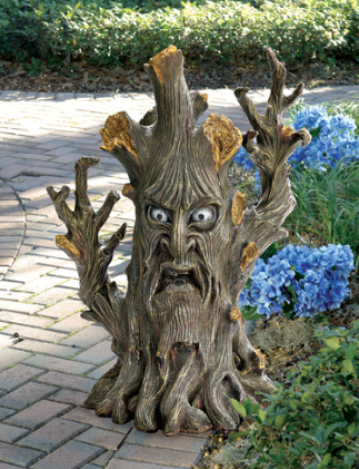 Picture 21 Freaky Lord of the Rings Garden Tree Statues