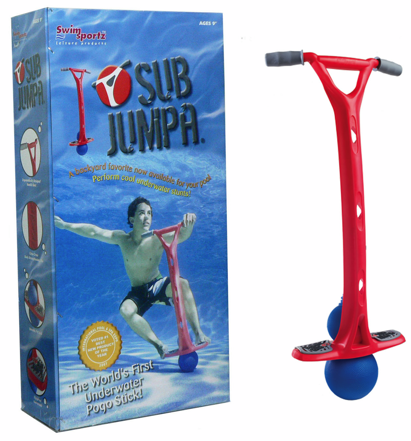 Picture 4 The Sub Jumpa: The first and last Underwater Pogo Stick