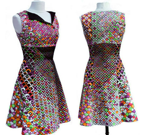colouring book dress 2
