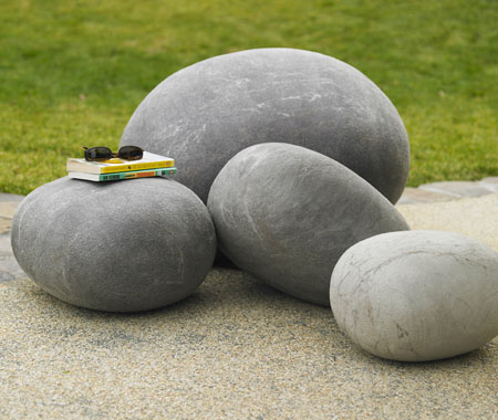 object utils Comfy garden pillows that rock