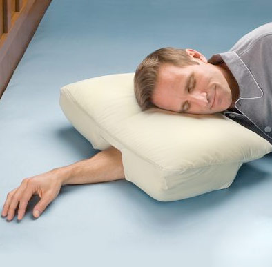 arm sleeper pillow Avoid pins and needles with The Arm Sleepers Pillow