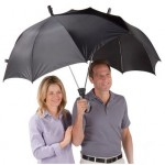dualbrella fail 150x150 Rain, youre going down. Its a Ninja Samurai Umbrella