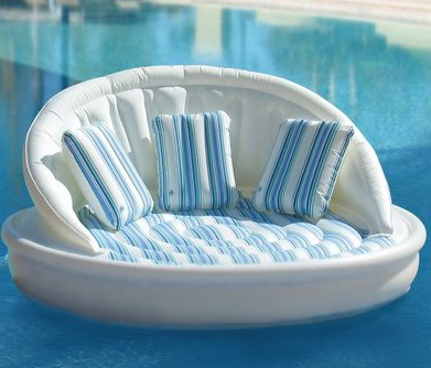 Floating pool sofa couch inflatable