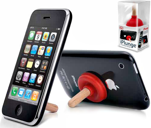 iplunge iphone kickstand Stick it to your iPhone, its the iPlunge Kickstand