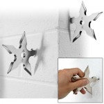 Does a ninja wear a jacket? Ninja Throwing Star Coat Hooks