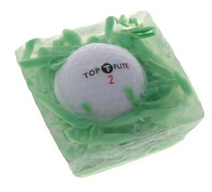 In The Rough Golf Ball Soap The Greatest List of the Nuttiest Golf Gadgets Around