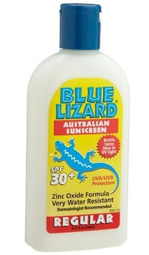 Picture 2 A sunscreen bottle that tans with you – Blue Lizard Sunscreen
