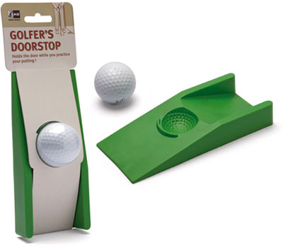 golfers door stop The Greatest List of the Nuttiest Golf Gadgets Around
