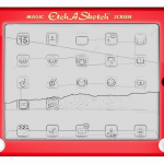 etch a sketch ipad case 150x150 Get your teacher an apple she can write on. The Kudamemo Fruit Notepad