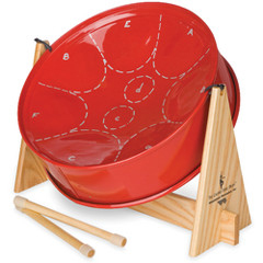 steel drum red childrens kids calypso Thought about it. The Childrens Calypso Drum