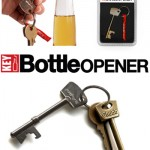 For that fashionable drinker it's the Skeleton Key Bottle Opener by SuckUK