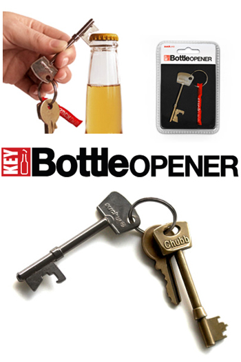 Suck key bottle opener