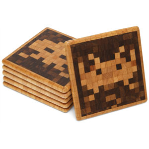 deb1 space invaders coasters The Greatest List of the Most Creative Drink Coasters of All Time