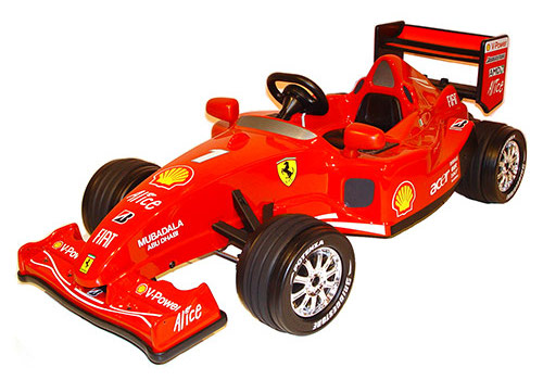 ferrari F1 ride on Guest Post: The Top 10 Door Crasher Gifts for Christmas 2010
