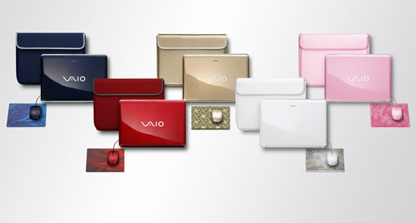 sony vaio colours Guest Post: The Top 10 Door Crasher Gifts for Christmas 2010