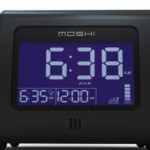 Super Uber Cool. It's Moshi, an alarm clock with excellent table manners