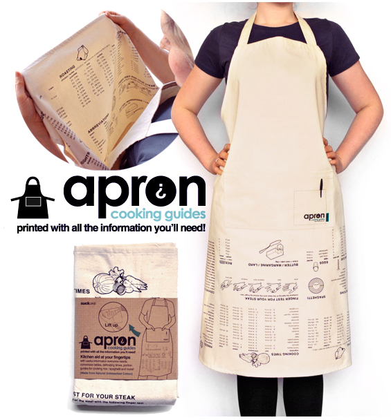 guide apron1 How useful could your cooking apron possibly be? Sounds like a challenge