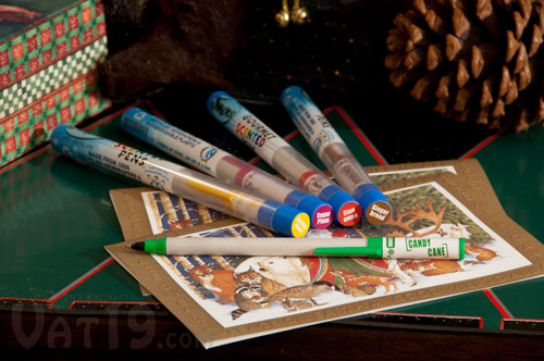holiday smens table Did your Christmas stink? This year try Holiday Scented Smens