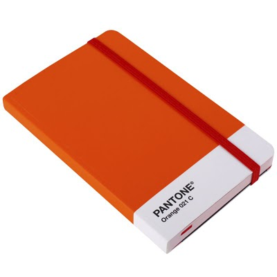pantone notebook orange 021 c small 17781544 Nerds are making a comeback. A list of cool Pantone® products for design geeks