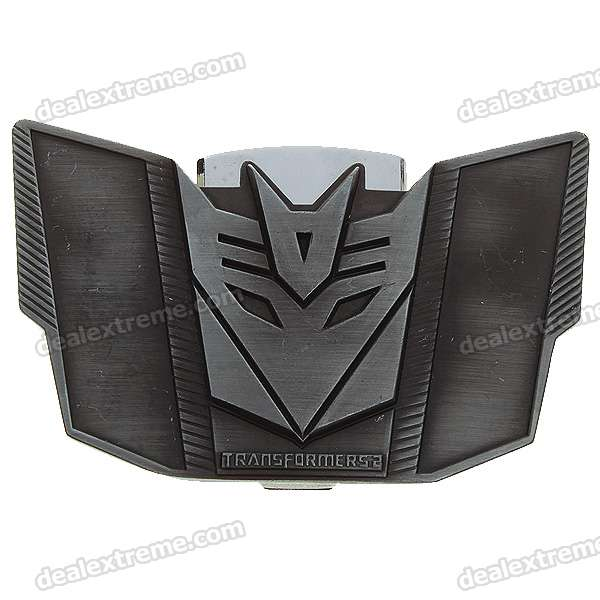 Decepticons Belt Buckle and Lighter