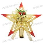 sku 49551 1 150x150 Thomas Kinkade does it again with a Revolving Christmas Tree Topper that goes over the top, literally