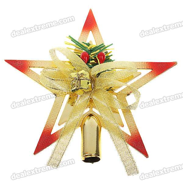 sku 49551 1 Nothing says Merry Christmas like a Pentagram tree topper and other crazy items from DX