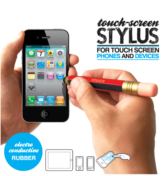 Picture 3 Touch Screen Stylus Pencil saves people with stumpy thumbs