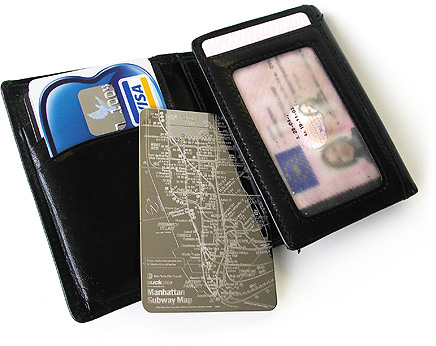 ccmap4 Give directions that are practically bulletproof with Stainless Steel Pocket Maps
