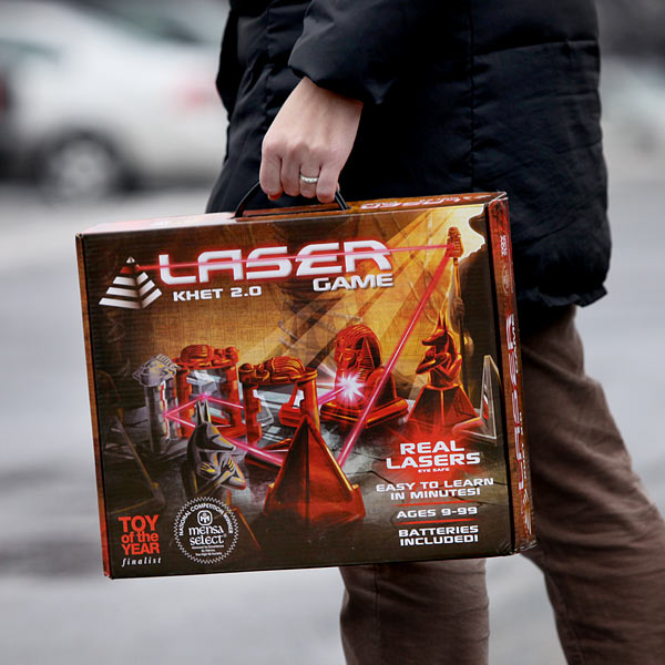 khet 2 0 laser game case Toy of The Year Finalist, Khet 2.0 is a board game that uses lasers!