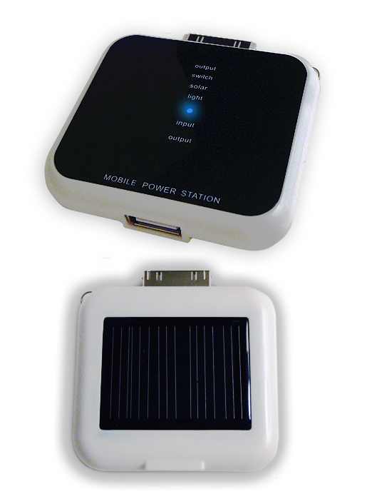 mobile power station Perfect for traveling with all your devices, its a mini Solar Powered Battery