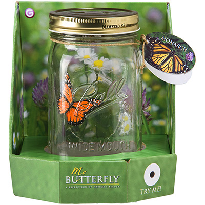 my butterfly packaging This just might be the toy of the year. Its a Butterfly Toy so realistic, its jarring