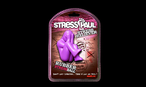 stress paul stress ball Reduce your anxiety with Stress Paul the Stress Ball