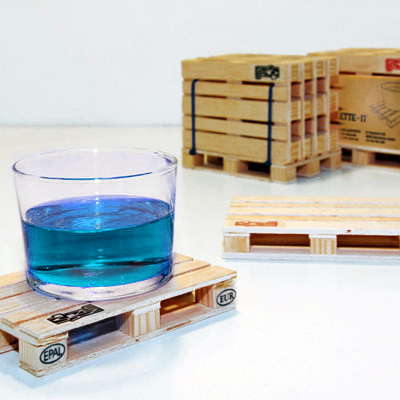 pallet coaster The Greatest List of the Most Creative Drink Coasters of All Time