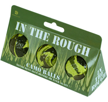 camo golf balls If youre a golfer, heres your worst nightmare. Camouflage Golf Balls