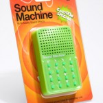 cartoon sound machine 150x150 Should come standard in all vehicles, the Road Rage Swearing Punching Bag