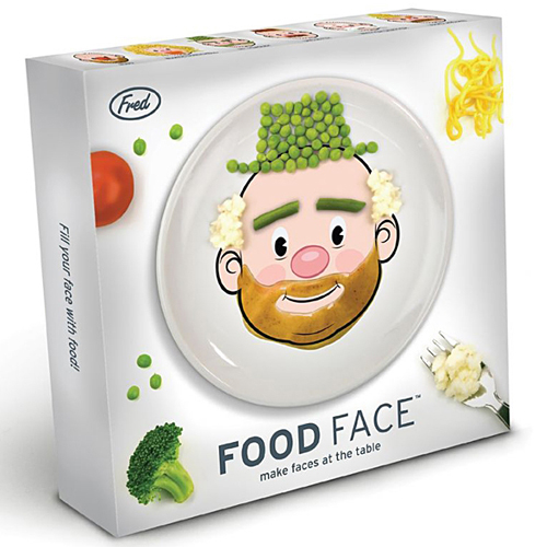 food face plate fred and friends Turn food into art with Food Face Plates