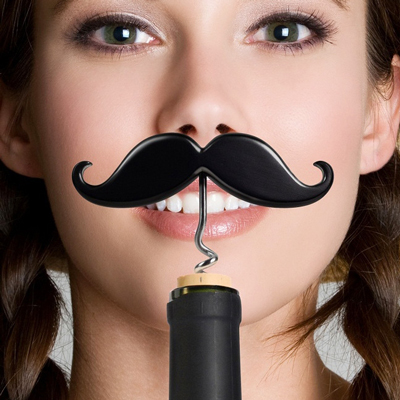 handlebar bottle opener Impress the ladies by opening bottles with your moustache