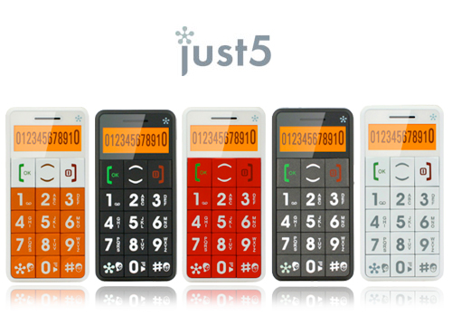 just5 cellphones for seniors For first timers and old timers, the Just 5 Cellphone is a breeze