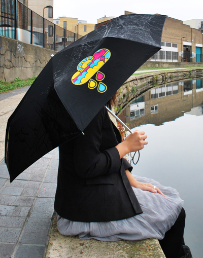 moko colour changing umbrella This will add some colour to your rainy days, its a Colour Changing Umbrella