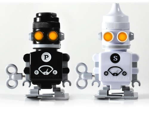 salt and pepper robots Paying my compliments to the condiments, its Salt & Pepper Robots