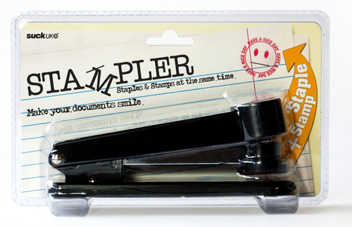 stampler packaging What do you get when you combine stamps and staplers?