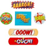wor048 ouch plasters comic strips 300main 150x150 POW, BAM, OUCH, yes, they are comic strip bandages