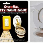 over the hill potty night light 150x150 Glow in the dark toilet paper is really weird and thankfully non toxic