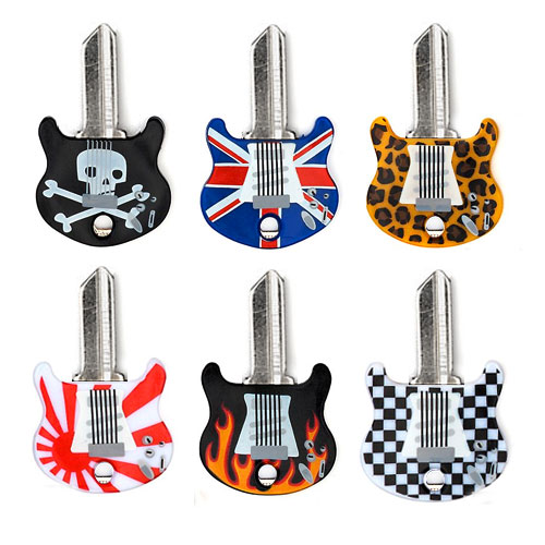 keytars set onemoregadget Turn your keys into mini air guitars with Keytars