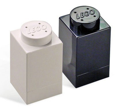 lego salt pepper shakers 20 of The Most Creative and Coolest Salt and Pepper Shakers Around