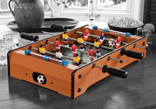 table top soccer mini shitsngiggles The second best thing you can do on a table, Table Top Foosball