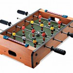 The second best thing you can do on a table, Table Top Foosball