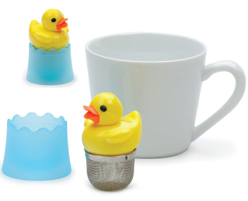Just Ducky Tea infuser1 The Greatest List of the Coolest Tea Infusers Around