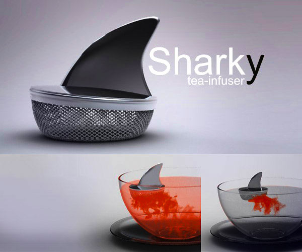 Sharky Tea Infuser One More Gadget The Greatest List of the Coolest Tea Infusers Around